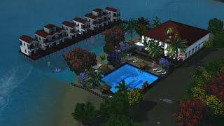 як зробити курорт в Сімс 3