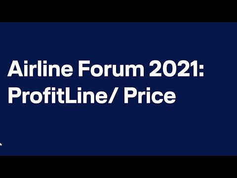 Airline Forum 2021 virtual - Andrea Sonneborn on ProfitLine/Price / Lufthansa Systems