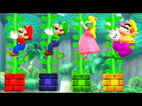 Mario Party 9 - All Wacky Minigames