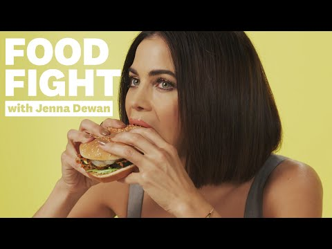 Jenna Dewan Reviews Vegan Fast Food | Food Fight | Women's Health