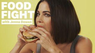 Jenna Dewan Reviews Vegan Fast Food | Food Fight