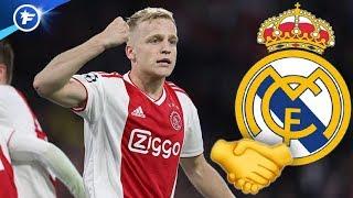 Accord entre le Real Madrid et Donny van de Beek | Revue de presse