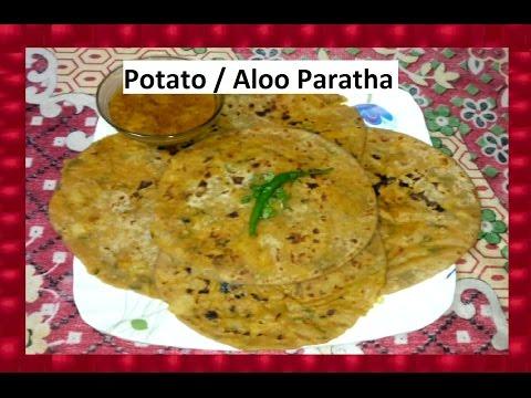 Potato / Aloo Paratha | Indian Snacks Breakfast Recipe | Marathi Recipe | Shubhangi Keer