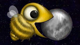 BEE EATS MOON!!! - Full Bee Segment - Tasty Planet Forever   Ep 4