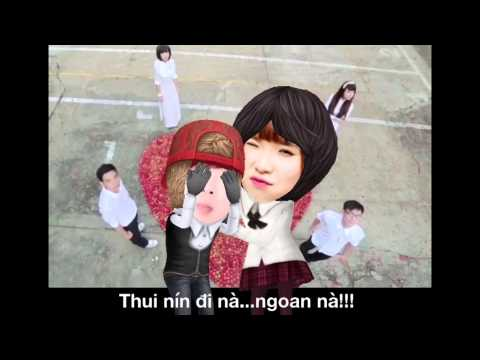 """[KHOI MY TUBE] Gửi Cho Anh phiên bản """"hoạt hình 3D"""" cực vui"""
