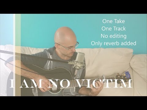 I AM NO VICTIM. Kristene DiMarco. Bethel Worship. (Acoustic Cover By Henry Braun)