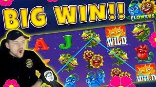 Flowers BIG WIN - Casino Game from CasinoDaddy Live Stream