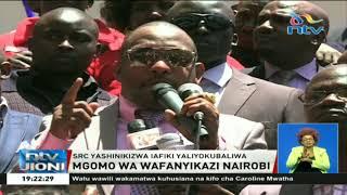 Gavana Mike Sonko aunga mkono mgomo wa wafanyikazi Nairobi