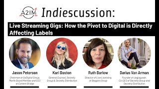 A2IM Indiescussion: Live Streaming - How the Pivot to Digital is Directly Affecting Labels