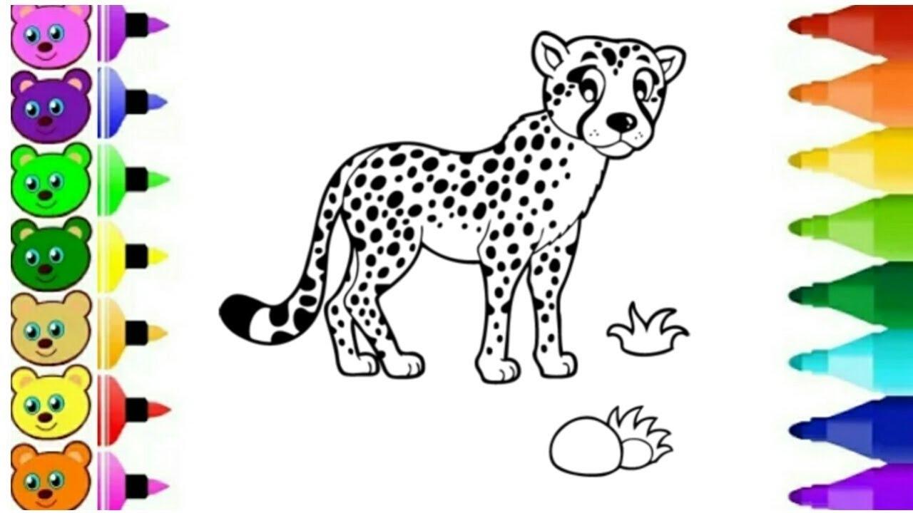 Belajar Menggambar Macan Tutul Youtube