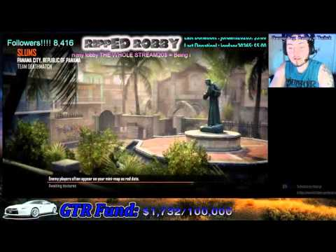 Ripped Robby Modded Live Stream!