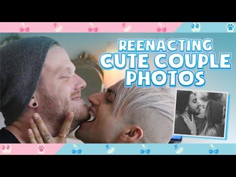 REENACTING CUTE COUPLE PHOTOS!
