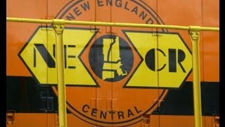 New England Central Railroad--August & September, 2013