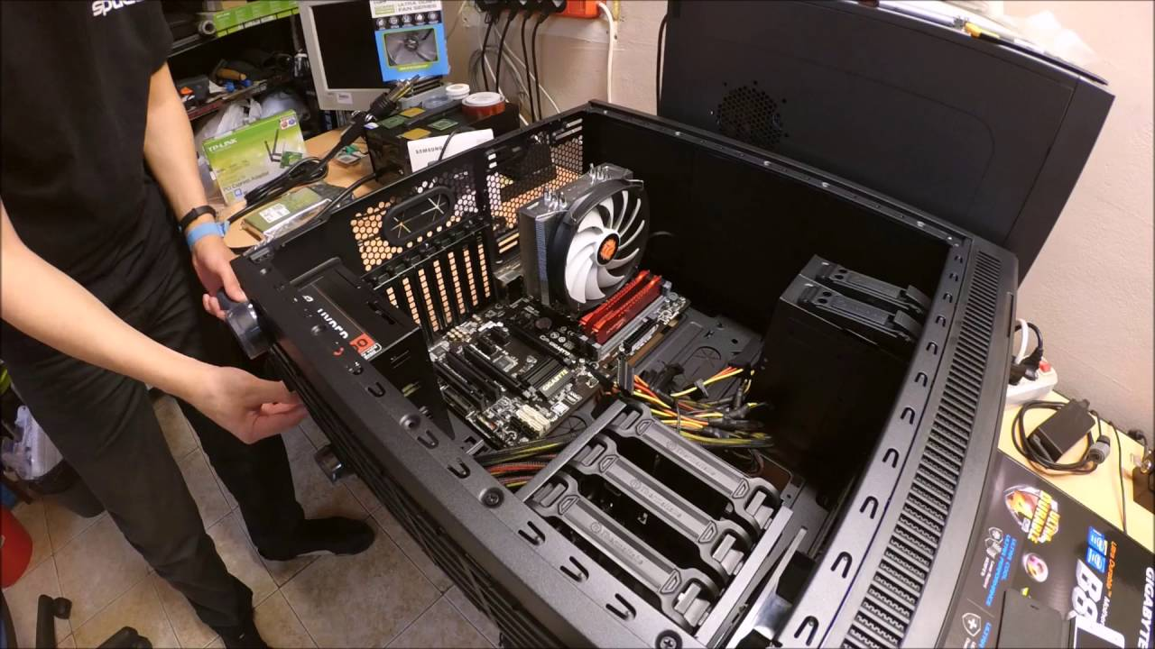 PC Assembly [Time Lapse] - YouTube