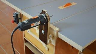 How It Works Router & Saw Table Part2 / Detalles De Fresadora Y Disco