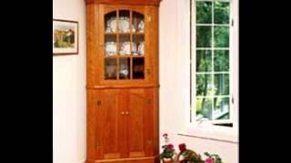 Corner Cupboard Plans