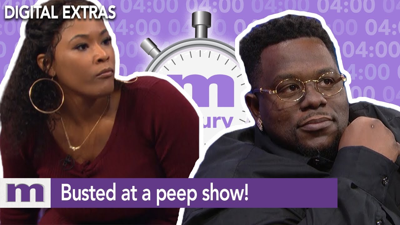 Busted at a peep show! | 4 Minutes of Maury | The Maury Show