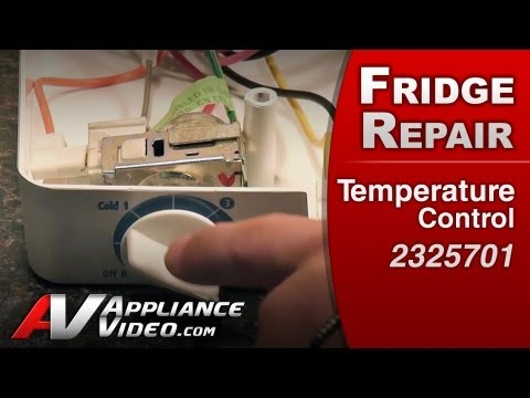 How To Put A Cold Control In A Whirlpool Gold Refrigera