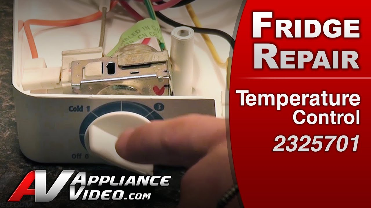 Whirlpool Refrigerator Repair Temperature Thermostat Cold Control Kitchenaid Wiring Diagram Maytag Kitchenaidroper2325701 Youtube
