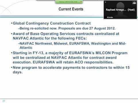 NAVFAC Industry Forum - Atlantic 20120820
