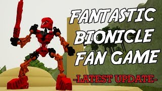 BIONICLE FAN GAME UPDATED | Eljay plays BIONICLE: Masks of Power