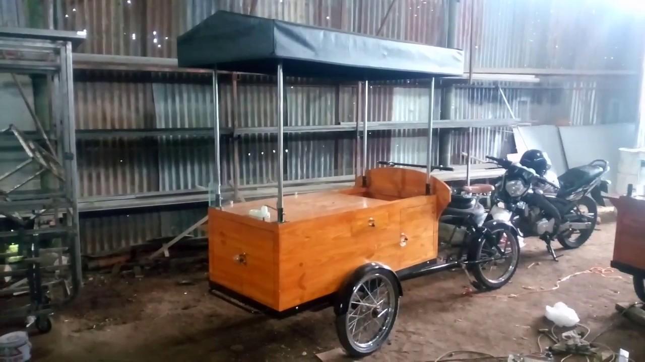 peluang bisnis kuliner | gerobak bike multifungsi made in