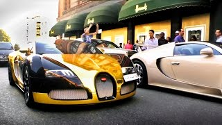 The Arab Supercar Invasion of London - Summer 2014