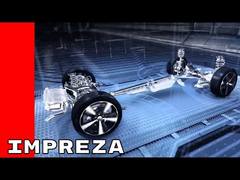 2017 Subaru Impreza In Detailed Animation