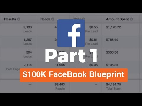 (Part 1) 100K FaceBook Ads Blueprint | Foundation Of Ads