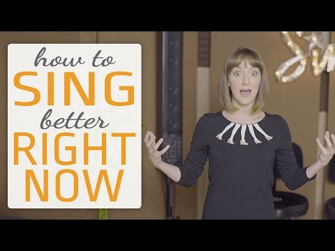 how to sing better right now – fast and easy