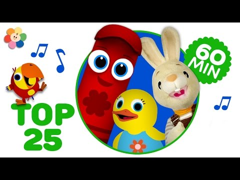 Top 25 Kids Sgs  All of the Nursery Rhymes for Kids  Children Sgs Special Episode  BaFirst
