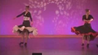Destination Danse  troupe present Spanish tap dance 2006