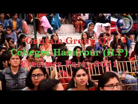 Gautam Group of College Fresher Party 2021