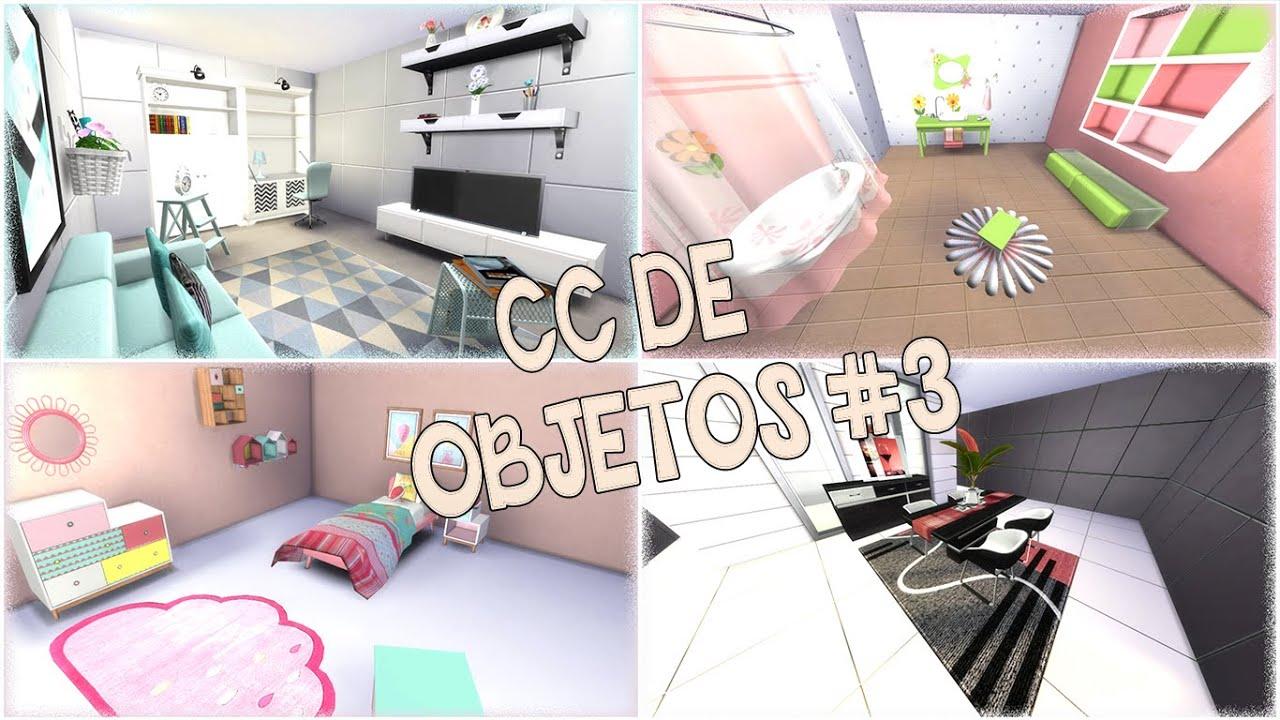 Descargar objetos de contenido personalizado para los sims for Mods sims 4 muebles