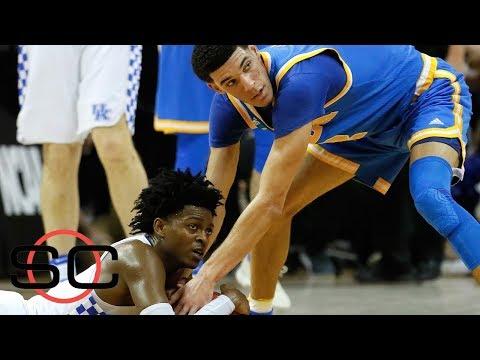 The budding rivalry between De'Aaron Fox and Lonzo Ball   SportsCenter   ESPN
