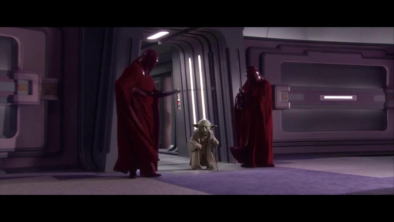 Yoda Takes Down Guards Youtube