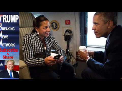 MASSIVE COVERUP What Obama Was Caught Doing Yesterday With Susan Rice Is TREASONOUS