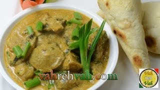 Mushroom Korma - By Vahchef @ Vahrehvah.com