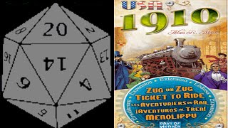 Unboxing: Ticket to Ride: 1910