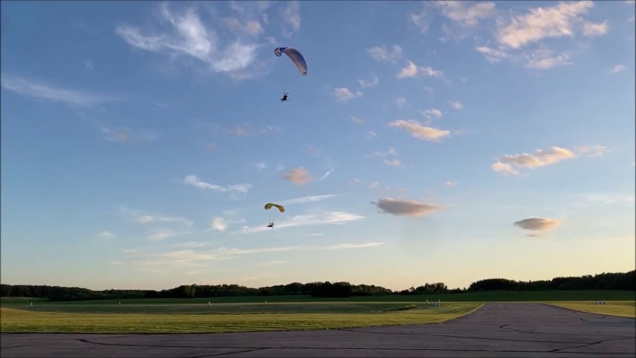 Sold the old paramotor and bought a new one and got to go to a fly in!