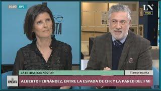 Alberto Fernández, entre la espada de CFK y la pared del FMI