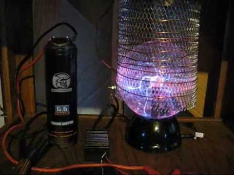 Plasma Ball - Radiant Energy - 1.5 to 18 Volt Battery Charger