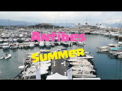Antibes-[Summer-Beach-Nightlife]-France [2018]
