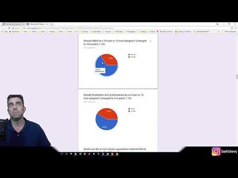 Blizzard Classic Server Survey