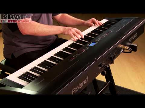 Kraft Music - Roland FP-80 Performance with James Day