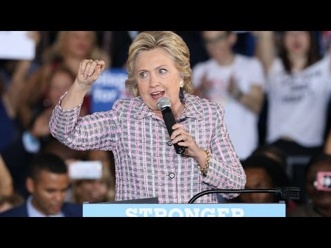 Hillary Clinton campaigns in Pittsburgh, Pennsylvania