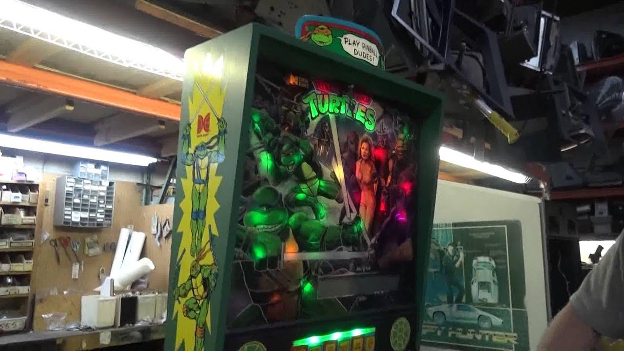 mutant turtle pinball machine