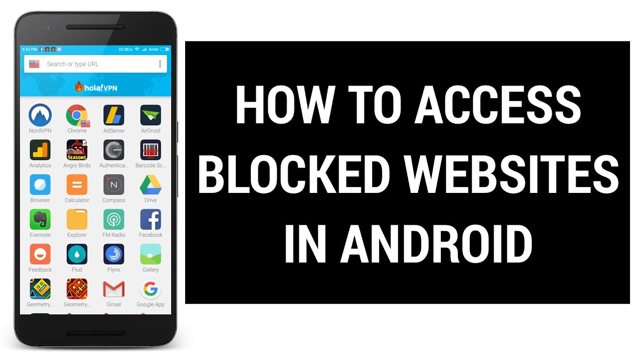 How to access blocked websites on any android device youtube how to access blocked websites on any android device ccuart Choice Image
