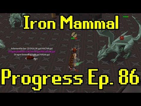 Oldschool Runescape - 2007 Iron Man Progress Ep. 86 | Iron Mammal