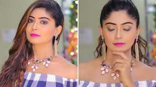 How To Do Party Makeup Using 5 Makeup Products | Rinkal Soni